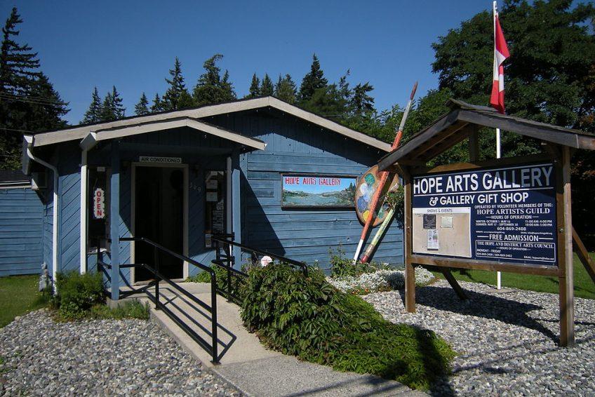 Hope Arts Gallery | Credit: Joe Mabel CC-BY-SA-3.0 Wikimedia-Hope, BC