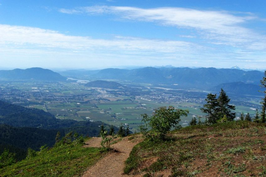 View of the Fraser Valley from Elk Mountain | Chilliwack, BC