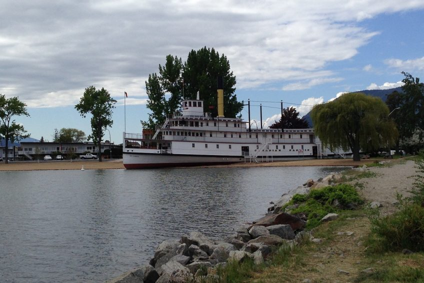 The historic SS. Sicamous steamwheeler and museum on Okanagan Lake | Penticton, BC