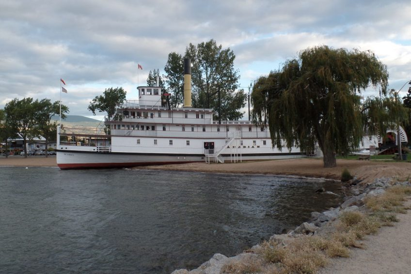 SS. Sicamous steamwheeler and museum | Penticton, BC
