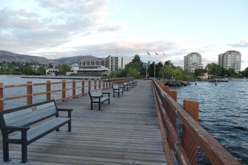 Kiwanis Walking Pier on Okanagan Lake | Penticton, BC