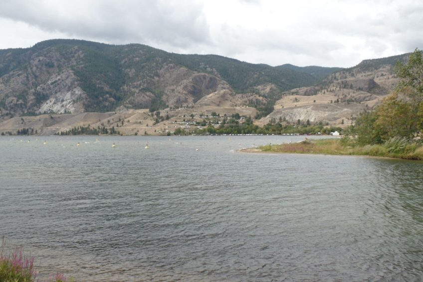 Outflow of Okanagan River into Skaha Lake | Penticton, BC