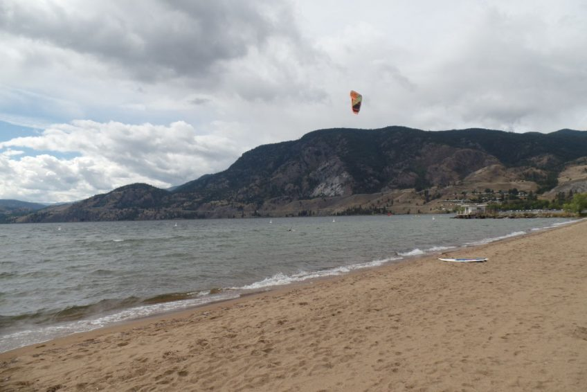 Kiteboarding on Skaha Lake | Penticton, BC