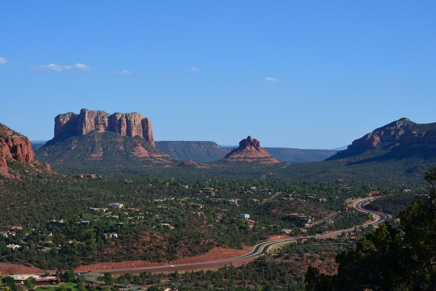 Overlooking beautiful Sedona | Sedona, Arizona